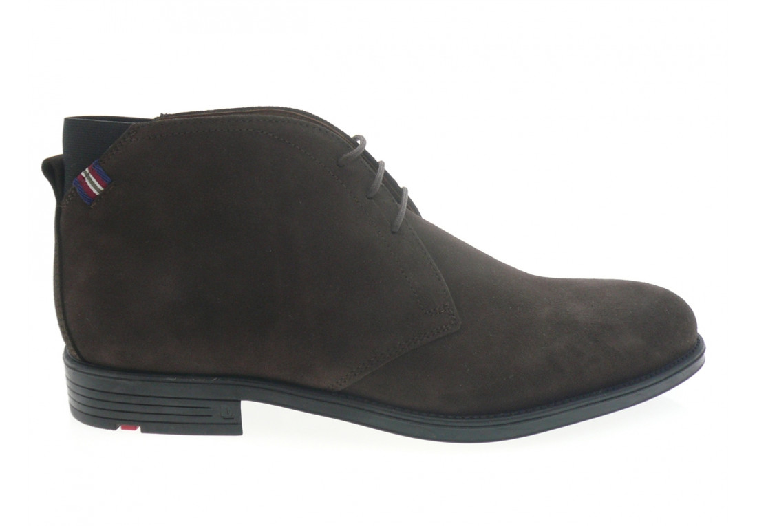 lloyd - Boots PATRIOTT - DAIM MARRON