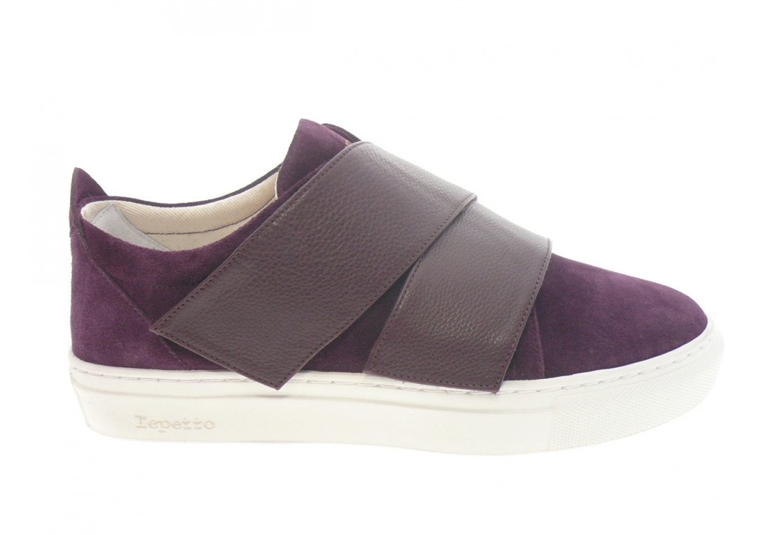 repetto - Sport JUST SNEAK - DAIM VIOLET