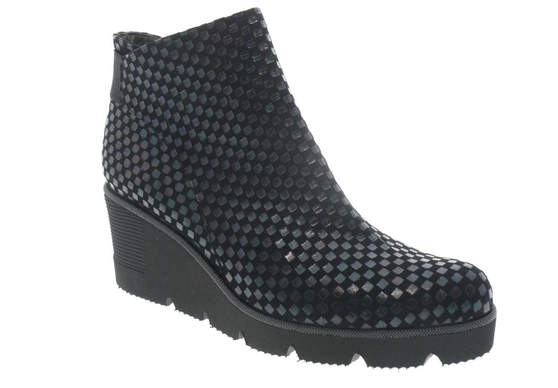 brunate - Boots 58286 - NOIR IMPRIMÉ