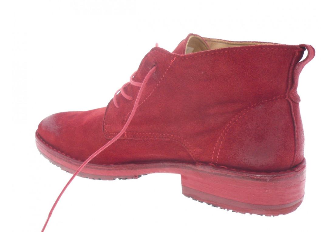 françois - Boots VISEU - DAIM ROUGE