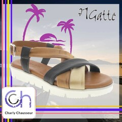 Cet été en bord de mer, vous allez adorer ce modèle de la marque 21 Gate 🙂  Sur https://www.charlychaussures.com/ et en boutique.   #été #piedàlairlibre