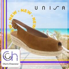 Restez toujours classe, même l'été avec cette paire de la marque espagnole Unisa.  Un incontournable de l'été à retrouver en boutique et sur https://www.charlychaussures.com/  #summer #été #unisa