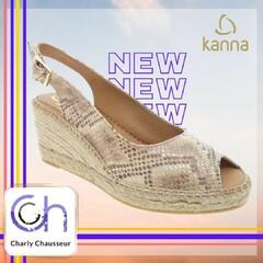 Nouvelle semaine, placée sous le signe de la nouveauté chez Charly 😊  Découvrez la marque Kanna !!  En boutique et sur https://www.charlychaussures.com/  #new #nouveauté #kanna
