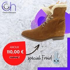 Du froid 🥶 et beaucoup de vent💨 aujourd'hui sur la région !!  Mesdames, foncez vite dans notre boutique, 22-24 Rue Française à Béziers et sur notre site https://www.charlychaussures.com/ 😍