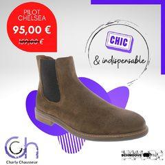 La paire indispensable qu'il vous faut Messieurs cet hiver, les Pilot Chelsea de Schmoove.  Elles vous attendent chez Charly Chausseur et sur https://www.charlychaussures.com/ à seulement 95€. Il va falloir se dépêcher !! 😛 #soldes #soldeshiver #chaussures #béziers #chaussureshommes