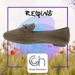 Dernier jour du mois d'aout, l'occasion de commencer à découvrir la nouvelle collection Charly !! 🤗  Ici, cette fabuleuse paire de ballerine de la marque Reqins  https://www.charlychaussures.com/  #rentrée #top #new #reqins